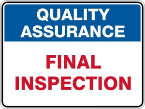 FINAL INSPECTION Houston Renovation Contractors